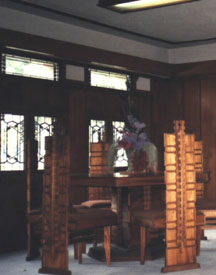 Hollyhock House Dining Room