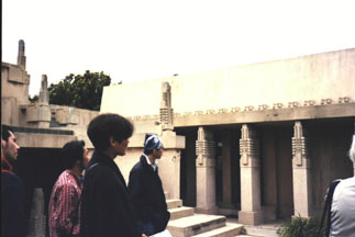 Hollyhock House Courtyard