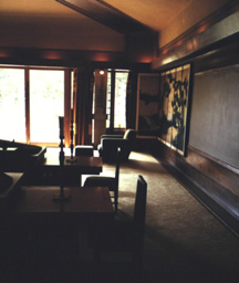 Hollyhock House Living Room