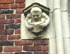Memorial Library Gargoyle